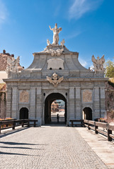 Foto op Aluminium Theater Alba Iulia Fortress Gate