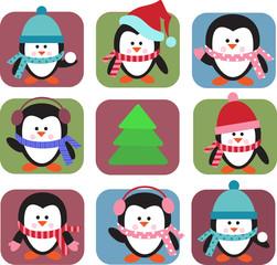christmas greeting card template , vector