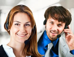 Call center operators