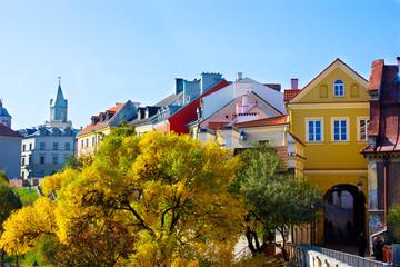 Obraz Stare Miasto w Lublinie, Polska - fototapety do salonu