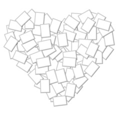 Photo Frame Heart Shape
