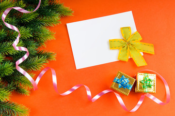 Festive concept for your message