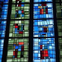 Photo sur Plexiglas Vitrail Vitrail moderne