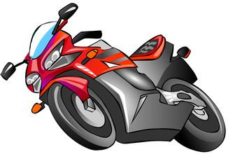Keuken foto achterwand Motorfiets мотоцикл