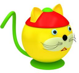 Funny fat cat