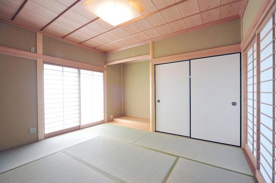 床の間のある和室1-1