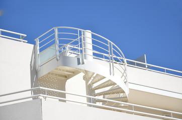 Escalier extérieur design