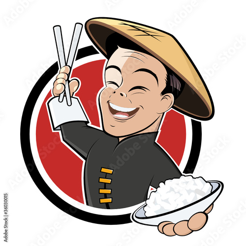 """china restaurant cartoon"" Stock image and royalty-free vector files on Fotolia.com - Pic 36030015"