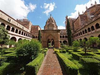 The monastery of Santa María de Guadalupe