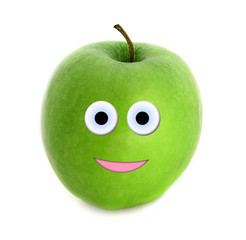 Happy apple