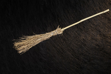 halloween witch broom