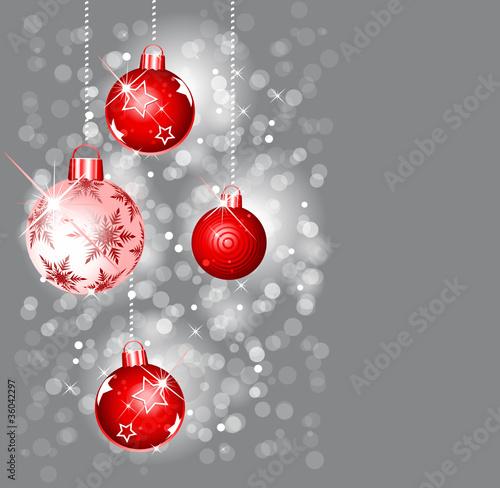 Christbaumkugeln grau stockfotos und lizenzfreie vektoren auf bild 36042297 - Christbaumkugeln grau ...