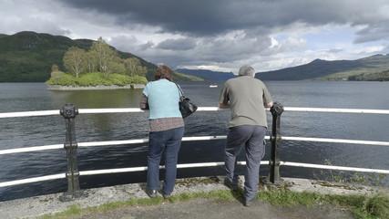 Loch Katrine en Écosse