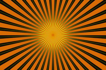 Poster de jardin Psychedelique Cool Rays
