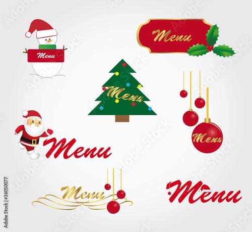 Decoration De Menu De Noel.Menu De Noel Stock Image And Royalty Free Vector Files On