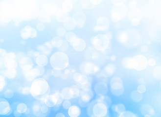 silver and blue christmas background