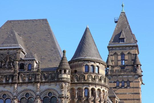 Teilansicht des Landgerichts von Bremen