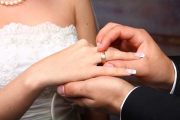 Wedding Ring on Her
