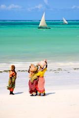 La spiaggia di Zanzibar