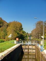 ECLUSE DU CANAL DE L'EST