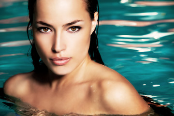 beauty in water