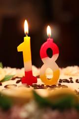18 Birthday Cake