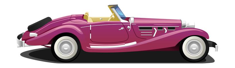 Recess Fitting Cars vintage сonvertible