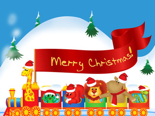 Christmas background for children