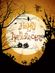 Wall Mural - Halloween illustration