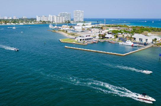 Harbor view Port Everglades, Ft. Lauderdale