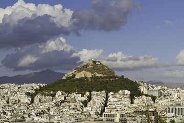 Fototapete - panoramic view of athens ,greece