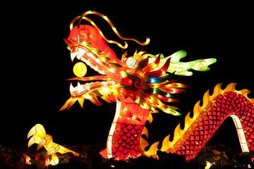 traditional Chinese dragon lantern