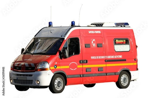 v hicule ambulance 39 vsab 39 des sapeurs pompiers photo libre de droits sur la banque d 39 images. Black Bedroom Furniture Sets. Home Design Ideas