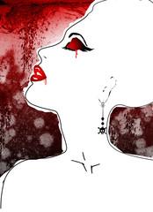 vampira elegante