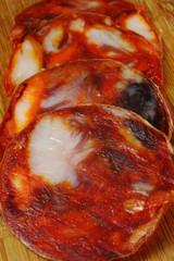 Chorizo Sausage slices