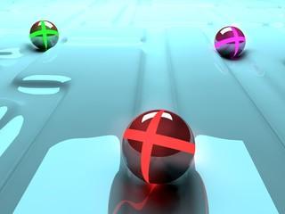 Obraz background abstract game balls - fototapety do salonu