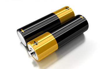 The batteries