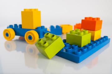 Picture of lego colour blocks