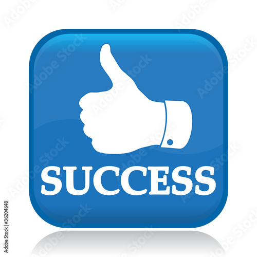 """SUCCESS ICON"" Stock image and royalty-free vector files ..."