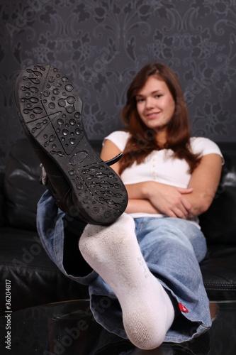 schuhe ausziehen stockfotos und lizenzfreie bilder auf bild 36204817. Black Bedroom Furniture Sets. Home Design Ideas