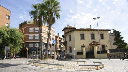 Calles y plaza