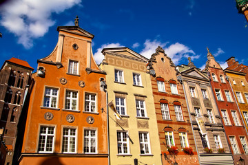 Wall Murals Old town in Gdansk Poland