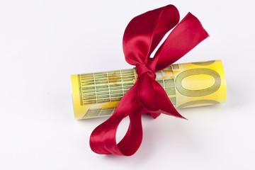 Geldgeschenk 200 Euro-Scheine