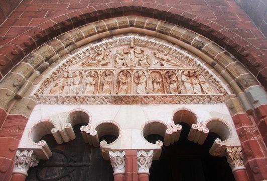 Ingresso chiesa Collonge la Rouge