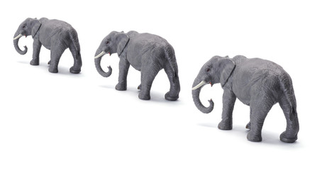 Toy Elephants