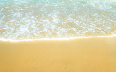 Sea beach in dreaming