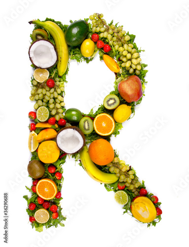 fruit alphabet letter r stock photo and royalty free images on