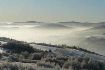 Beskid Niski z Grzywackiej Góry