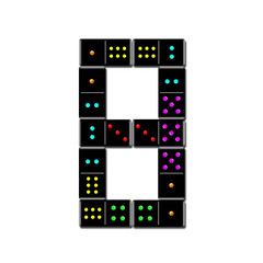 number domino