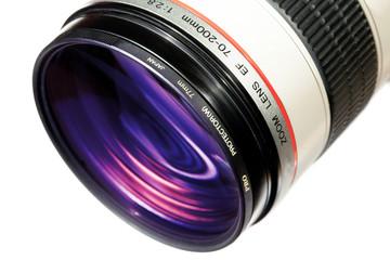 Digital camera lense